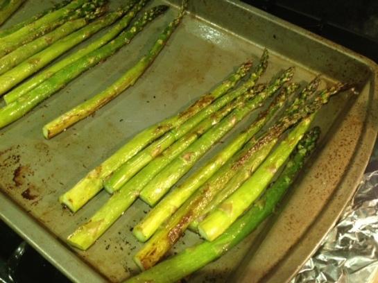 It's asparagus!