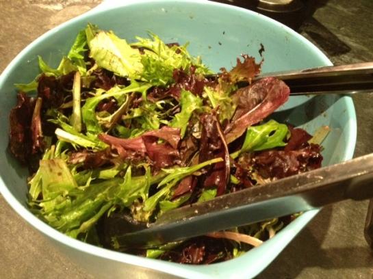 It's salad.